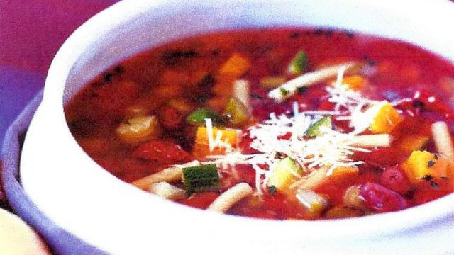 Photo of Blueberry Minestrone Soup