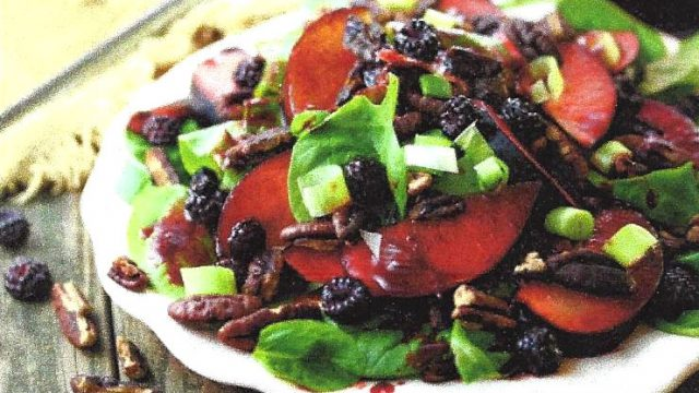 Photo of Purple Plum Turkey Salad