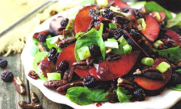 Purple Plum Turkey Salad