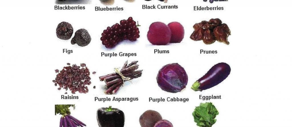 Why You Should Eat More Purple Fruitsa and Vegetables